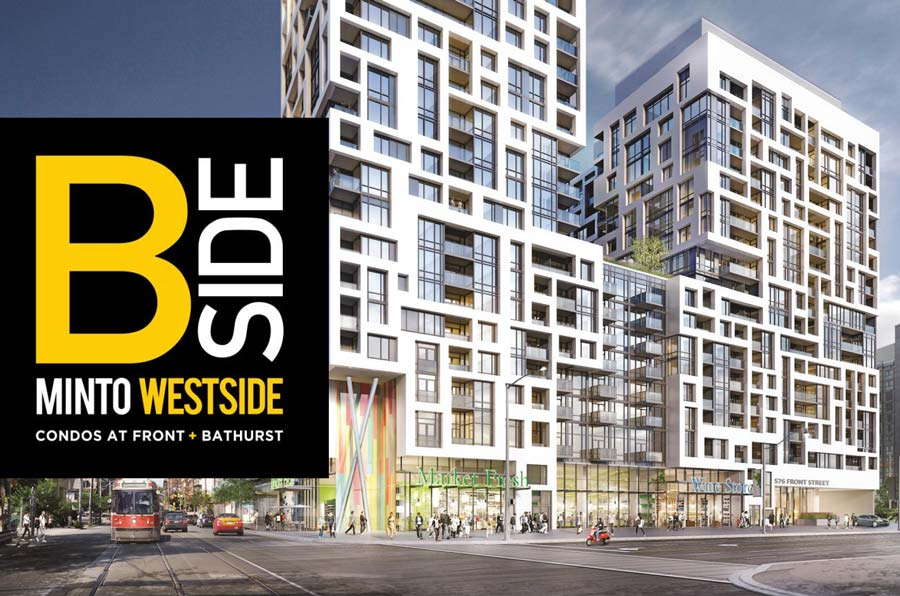 Minto west side condos at front and bathurst condoweb for Courtyard designs bathurst